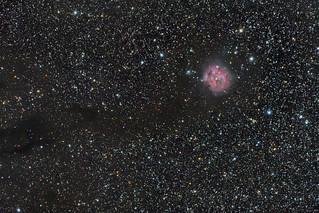 The Cocoon Nebula, IC 5146, in Cygnus