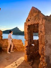 Torre de Cala en Basset (Kent Wang) Tags: mallorca spain majorca torredecalaenbasset hike me outfit khaki