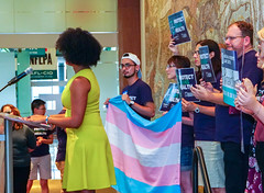 2018.07.17 #ProtectTransHealth Rally, Washington, DC USA 04697