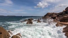 Le tumulte d'écume- EXPLORE (Erminig Gwenn) Tags: perrosguirec bretagne france fr 0255 vagues waves écume mer