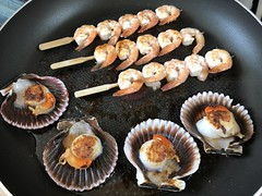 starter today (Hayashina) Tags: cooking starter pan seafood