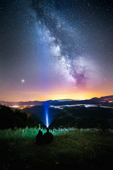Under the Stars (Croosterpix) Tags: nightscape nightsky milkyway stars landscape night summer lights sony a7r tamron 1530