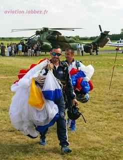 équipe de parachutistes sportifs de l'armée de l'Air, Valenciennes Prouvy