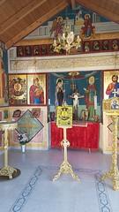 Greek Orthodox Chapel 12 (Jill_Ion) Tags: greekorthodox chapel greece religiousart saints july 2018 july2018 jillion