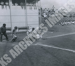 904- 5556 (Kamehameha Schools Archives) Tags: kamehameha archives ksg ksb ks oahu kapalama luryier pop diamond 1955 1956 henry lee junior varsity jv sports baseball