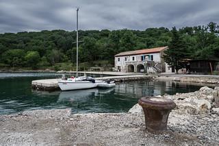 In der Bucht von Voz (Insel Krk, Kroatien)