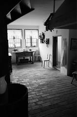 Scan-110920-0020 (marek.golkowski) Tags: poland polska skansen olsztynek analogphotography analog filmphotography monochrome pentax pentaxian cottage vilage