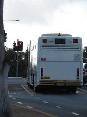 Scania K320UA 1160 in Bus Only waiting lane (RS 1990) Tags: scania bus lane waiting trafficlight signal teatreegully modbury ridgehaven adelaide southaustralia friday 20th july 2018 1160 k320ua