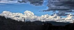 Tonciu Wolken (wernerfunk) Tags: clouds rumänien bistritanasaud sky