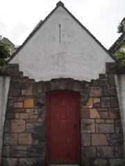 Red door (BurnThePlans) Tags: door red old