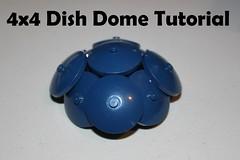 4x4 Dish Dome Tutorial (soccersnyderi) Tags: lego moc creation guide design technique dome dish 4x4 tutorial walkthrough brickbuilt