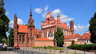Vilnius / Eglise Sainte-Anne / St. Francis of Assisi (Bernardine) Roman Catholic Church