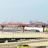 Port Newark from top of Terminal C parking deck. #newark #nj #newjersey — view on Instagram https://ift.tt/2I0hGFD (gardenstatepics) Tags: nj new jersey
