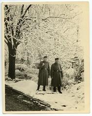 . (Kaïopai°) Tags: male uniform soldat vintage portrait portraiture wehrmacht wache schnee snow winter kälte cold wwi ww1 wk1
