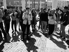 Gwylwyr / Spectators - TFNB Caerdydd / Cardiff WNBR, 2018 (Rhisiart Hincks) Tags: noeth rùisgte noazh biluzi larrugorri lomnochd naked desnudo nahý naakt nuda alasti meztelen tahanga naken nagi gol голый го çıplak голий nakinn nuogas kails nude wnbr caerdydd cardiff cymru wales canolfanmileniwmcymru walesmillenniumcentre ffotograffydd photographer luc'hskeudenner neachtogaildhealbh dealbhair argazkile grianghrafadóir mobilephone ffônsymudol hezougenn cellphone fònlàimh fònsiubhail mugikorra fónpóca guthánpóca gwylwyr spectators blancinegre duagwyn gwennhadu dubhagusgeal dubhagusbán blackandwhite bw zuribeltz blancetnoir blackwhite monochrome unlliw blancoynegro zwartwit sortoghvid μαύροκαιάσπρο feketeésfehér juodairbalta