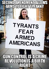 Tyrants fear armed Americans. (Sons of Liberty Tees) Tags: 2ndamendment defendthesecond pewpewpew righttobeararms shooting