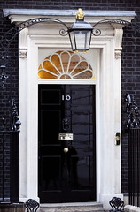 BG3KY2 (knsb2012) Tags: front door number 10 downing street london no no10 exterior outside detail black shiny glossy home prime minister uk united kingdom britain british england english famous building residence residences residential well known address