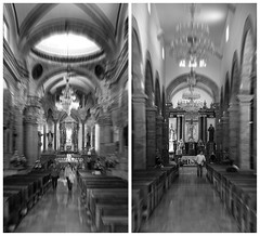 The same but different (posterboy2007) Tags: tlaquepacque guadalajara mexico church interior architecture alter monochrome collage