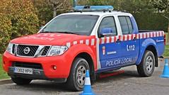 Policía Local Guadarrama (emergenciases) Tags: emergencias españa 112 comunidaddemadrid vehículo seguridad policía policíalocal pl nissan navara pickup todoterreno guadarrama