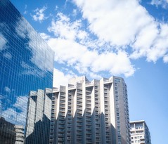 #Montreal #sky #cloud #sunny #building #reflection #urban (yuxianghuang) Tags: sky cloud reflection urban sunny montreal building