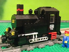 IMG_1838 (CanvasRails) Tags: lego powered up 60198 db 7730 small shunter steam locomotive