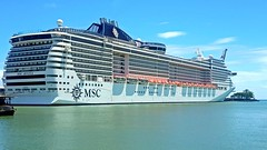 MSC Divina (Irvine Kinea) Tags: msc divina regent seven seas explorer cruise passenger cargo transportation thomson marella discovery sea cloud celebration carnival port harbor europe international pacific globe earth sailing route travel excursions spain italy france greece croatiagenoa terminal world adventure ocean captain pilot guests knots relaxation moby superman crociere deck