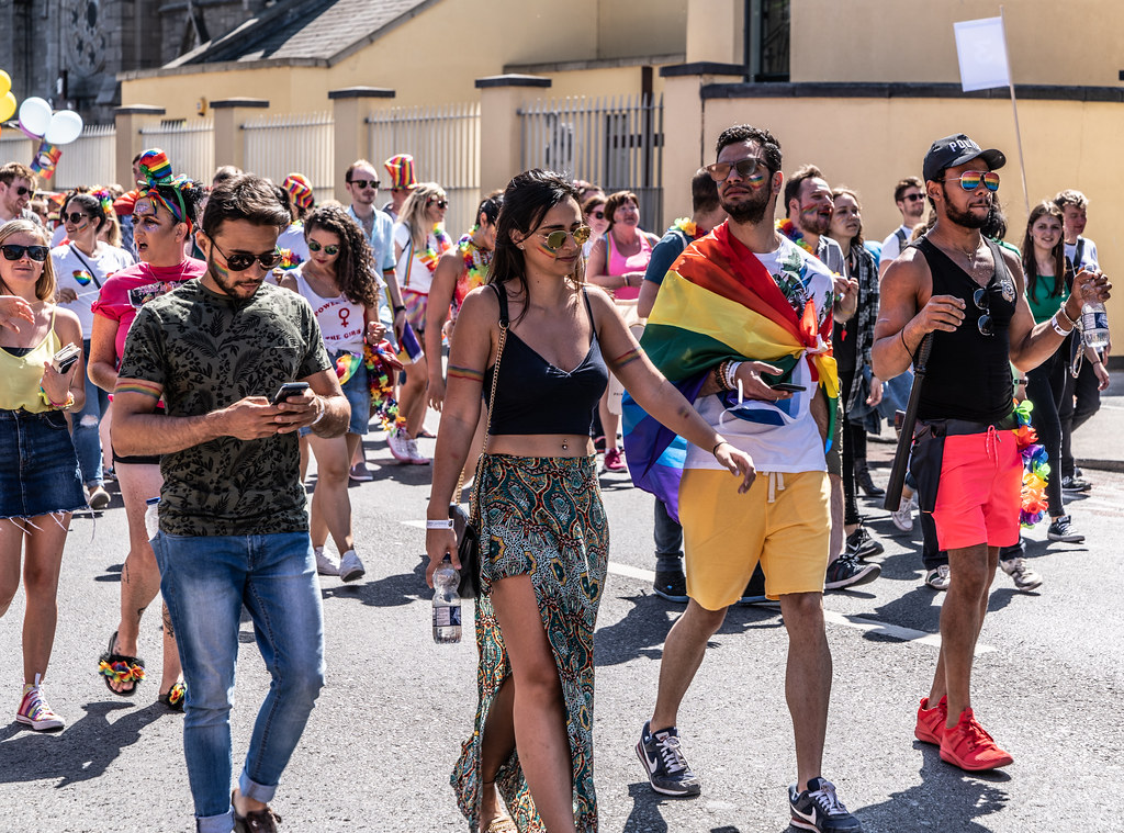 ABOUT SIXTY THOUSAND TOOK PART IN THE DUBLIN LGBTI+ PARADE TODAY[ SATURDAY 30 JUNE 2018] X-100208