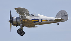 Gladiator (Bernie Condon) Tags: uk british shuttleworth collection oldwarden airfield airshow display aviation aircraft plane flying militarypageant june june2018 gloster gladiator fighter military warplane ww2 1930s biplane raf royalairforce vintage preserved fightercommand battle britain
