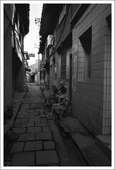 HengMian35 (nickthepluto) Tags: shanghaigp3 zeiss ikon zm biogon 2828 bw d76 film