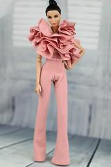 Nu Face Rayna Natural wonder (Regina&Galiana) Tags: fashionroyalty integritytoys nuface doll forsale barbie pink jumpsuit ebay