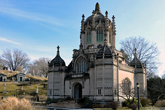 Green-Wood Cemetery Chapel (Can Pac Swire) Tags: newyork city usa america american unitedstates us brooklyn greenwood cemetery national historic landmark building architecture chapel 2018aimg7550 1911 1910s