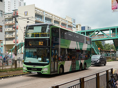 NLB MAN A95 12m VG5227 B2 (Thomas Cheung Bus Photography) Tags: bus road building nlb new lantau hong kong public transport mass transit double decker doubledecker