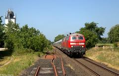 IMG_3116 - Kopie (Marius Segelke) Tags: marschbahn ic intercity westerland sylt frankfurt deutsche bahn v160 baureihe 218 schleswigholstein nordfriesland 2018