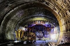 Tunnelbau in Oberau