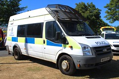 NK59 EDR (Ben Hopson) Tags: durham constabulary police ford transit pov public order van riot psu protection carrier shield 59plate 999 emergency vehicle nk59 edr nk59edr