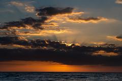 Sunset over Baltic Sea (Rafał Banach) Tags: balticsea pl poland polska sonya7riii sonyfe24105mmf40 clouds colors landscape sea seascape seaside shore summer sun sunbeams sunset water waves sky dusk