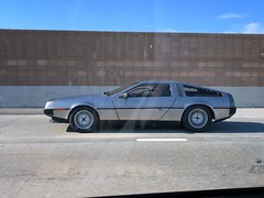 Back To The Future (misterbigidea) Tags: dmc12 iconic luxury sportscar futuristic hotwheels timetraveler car auto vintage classic dailydriver commuter freeway driveby backtothefuture delorean explore