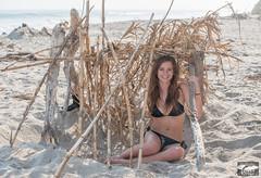 Bamboo Driftwood Beach Fort Tent! Beautiful Long Brown Hair Blue Eyes Bikini Swimsuit 45SURF Pretty Brunette Model Surf Girl! Surf's Up Malibu Beach! Sexy Hot Fitness Model Surfer dx4/dt=ic! 45SURF 45EPIC Venus! Nikon D800 & Nikkor 70-200mm F2.8 VR2 Lens! (45SURF Hero's Odyssey Mythology Landscapes & Godde) Tags: beautiful long brown hair blue eyes bikini swimsuit 45surf pretty brunette model surf girl surfs up malibu beach sexy hot fitness surfer dx4dtic 45epic the birth venus nikon d800 nikkor 70200mm f28 vr2 zoom lens bamboo driftwood fort tent