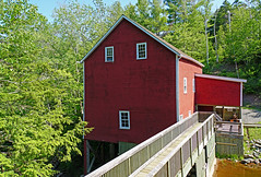 DSC00820 - Balmoral Grist mill (archer10 (Dennis) 160M Views) Tags: sony a6300 ilce6300 18200mm 1650mm mirrorless free freepicture archer10 dennis jarvis dennisgjarvis dennisjarvis iamcanadian novascotia canada sunrisetrail balmoralgristmill river dam building bridge red mill grist