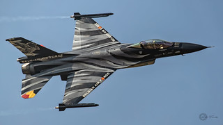Belgian Air Force  General Dynamics F-16A MLU Fighting Falcon