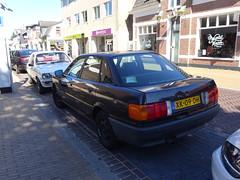 AUTO UNION AUDI 80 66KW AUT. XK-09-DH 1989 Apeldoorn (willemalink) Tags: auto union audi 80 66kw aut xk09dh 1989 apeldoorn