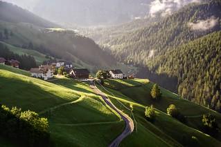 sunrise in South Tyrol