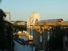 Voyager Royal Albert Bridge (2) (Marky7890) Tags: xc class220 voyager 2p86 royalalbertbridge railway saltash cornwall cornishmainline train