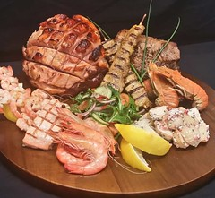 CHRISMAS CATERING & THEMED BUFFETS (spitsnpieces1) Tags: bbq party catering
