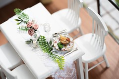 DSC00075 (kixkillradio) Tags: diy dollhouse dining room minimalist miniature toy photography nendoroid