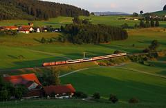 Urlaub im Allgäu Teil 1 (Klaus Z.) Tags: eisenbahn kbs 970 heimhofen ec 197 br 218 allgäu allgäubahn eurocity db fernverkehr