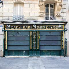 Café bar liquoriste (Pixdar) Tags: paris devanture liquoriste