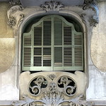 A green-shuttered window, Barcelona thumbnail