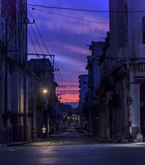 Early Morning Havana (Tom Kilroy) Tags: cuba havana habana street memorial night architecture monument tree urbanscene history outdoors city dusk dark builtstructure buildingexterior streetlight sky old twilight cityscape citylife illuminated sunrise