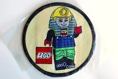 Adventurers woven patch (BF Bricks) Tags: lego ephemera collectible patch sew embroidered 90s 80s